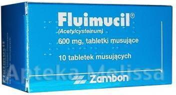 ZAMBON Fluimucil 600mg 10 szt.