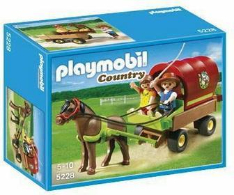 Playmobil Country Wóz dla dzieci z kucykiem 5228