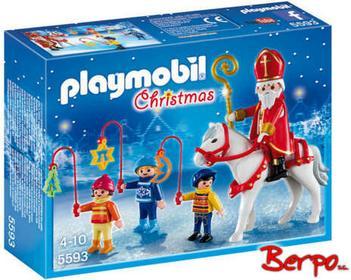 Playmobil 5593 Christmas - Święty Mikołaj z dziećmi PM.5593