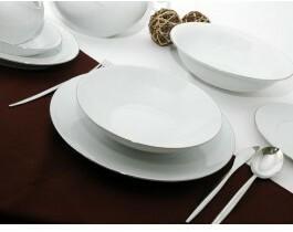 Ćmielów Zestaw obiadowy dla 12 osób porcelana Quebec | Darmowa dostawa