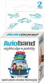 AVIO BAND 2szt Opaski przeciw chorobie lokomocyjnej