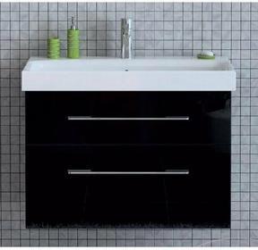 Elita BARCELONA 60 Black - szafka pod umywalkę wisząca