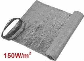 Mata grzewcza WT2010AL 1m2 (150W/m2) pod panele