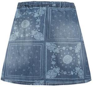 s.Oliver Spódnica jeansowa blue denim 57602796439 dziewczęta