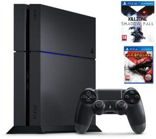 Sony PlayStation 4 1TB Czarny + Killzone Shadow Fall + God of War 3 Remastered