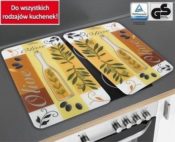 Wenko Szklane płyty ochronne OLIWKI na kuchenkę  2 sztuki 4008838135778