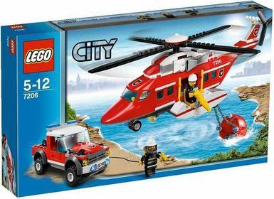 LEGO City Helikopter straży pożarnej 7206