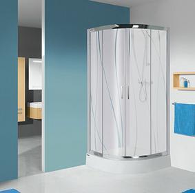 Sanplast TX KP4/TX5b-90 90x90 profil srebrny błyszczący szkło W0 600-271-0262-38-401