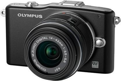 Olympus Pen E-PM1 + 14-42 kit 3D czarny