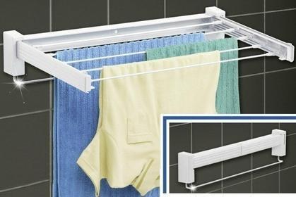 Wenko Suszarka na pranie, bieliznę - BUTTERFLY, składana, ścienna 5D1
