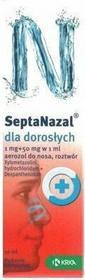 Krka SEPTANAZAL dla dorosłych 10 ml