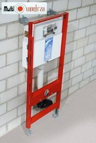 Tece profil - Uniwersalny Stelaż podtynkowy Do kompaktu WC ze spłuczką podtynkową uruchamianą z góry lub z przodu, wysokość 980 mm 9.300.022