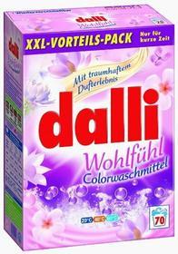 Dalli 4,9kg Wohlfühl Colorwaschmittel XXL proszek do prania tkanin k