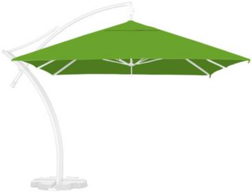 LITEX Promo Sp. z o.o. Poszycie parasola ogrodowego Ibiza Quattro 3,5x3,5m Jasno