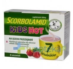 Polpharma Scorbolamid KIDS Hot 8 szt.