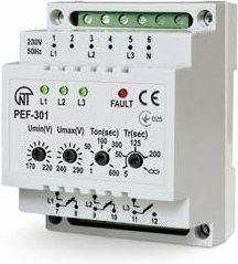 Novatek Electro Automatyczny elektroniczny Przełącznik faz PEF-301