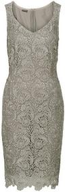 Bonprix Sukienka gipiurowa brunatny 953036