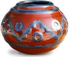 Matero YerbaMarket Ceramiczne Azteca Suelo 400 ml