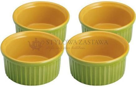 Kuchenprofi Miseczki żaroodporne zielone, 4 szt KU-0707004204