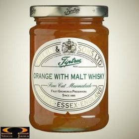 Angielska Konfitura pomarańczowa z whisky Wilkin & Sons 817
