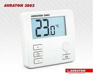 Lars AURATON 3003 Regulator dobowy przewodowy z wyświetlaczem, obniżenie nocne k