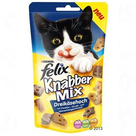 Purina Felix Party Mix Cheese - 3 x 60g