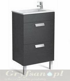 Roca Zestaw łazienkowy Unik Compacto 50 cm z szufladami Debba A855904806