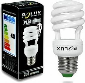 Polux świetlówka energooszczędna Platinum 12W E27 2700K SE1706