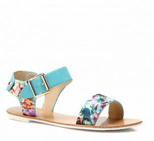niebieskie sandały Leonie