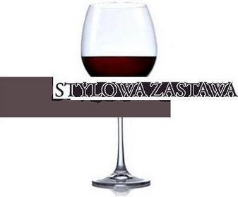 Bohemia Komplet 2 szt kieliszków do wina 850 ml Vintage XXL 976995