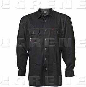 Grene koszula GWB czarno-szara, roz. XS 1963-7030089036
