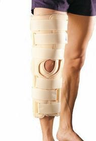 Antar Oppo Orteza 4130 dająca pełne usztywnienie w kolanie, tutor stawu kolanowe