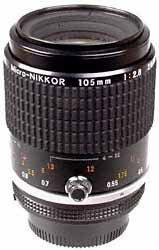 Nikon MF 105mm f/2.8 Micro