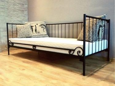 Grupa Lak System Łóżka metalowe Łóżko metalowe sofa 80x200 WZÓR 3 802003
