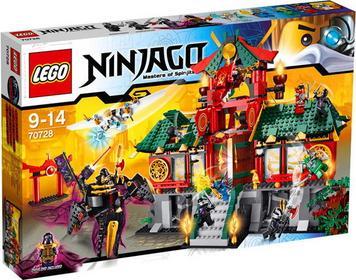 LEGO 70728 Ninjago - bitwa o miasto Ninjago