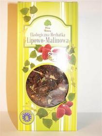 Dary Natury Ekologiczna Herbatka Herbata lipowo-malinowa 80g