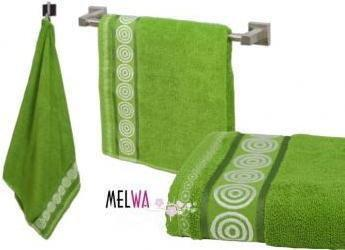 NA Ręcznik kąpielowy bawełniany RONDO 50x90 cm (rr z m)