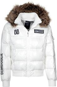 Bomboogie Kurtki i Płaszcze zimowe biały BO622G00Z-003