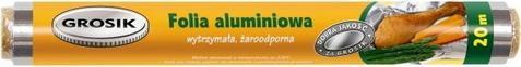 GROSIK Folia Aluminiowa 20 m