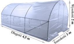 Home&Garden Tunel Ogrodniczy 300 cm x 450 cm (13,5 m2)