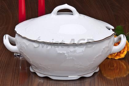 Ćmielów Rococo - Waza do zupy 2.7 litra