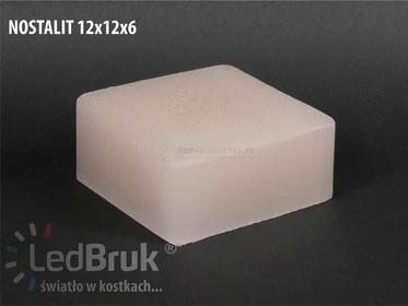 LedProdukt Sp. z o.o. ZESTAW 6szt. NOSTALIT 12x12x6 cm + akcesoria