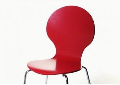 Living Art Krzesło Form czerwone