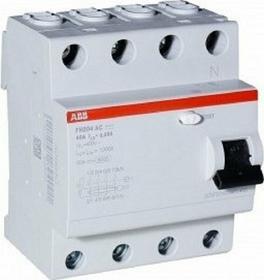 ABB Sp. z o.o. HOME Wyłącznik różnicowo-prądowy FH204 4P 25A 300mA AC 2CSF20