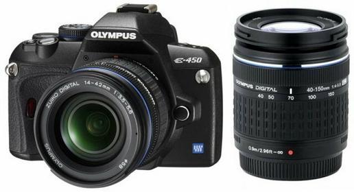 Olympus E-450 + 14-42 + 40-150 kit