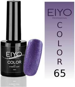 EIYO Lakier hybrydowy, Elegance - Fiolet z Brokatem - 65 - 15ml