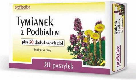 MSFarma Tymianek z Podbiałem + 20 ziół 36 szt.