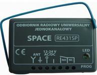 Came Radioodbiornik uniwersalny RE431 SP z kodem dynamicznie zmiennym RE431SP