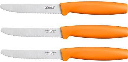 Fiskars Zestaw noży ząbkowanych 3 szt. 1014278