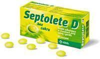 Krka Septolete D bez cukru 30 szt.
